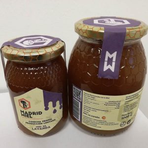 MM natural raw lavender honey