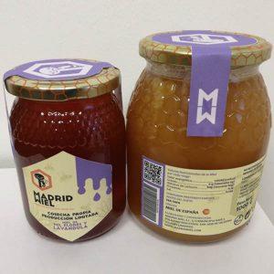 natural raw wildflower and lavender/lavandula honey
