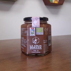 natural raw organic heather honey